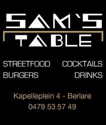 Sams table
